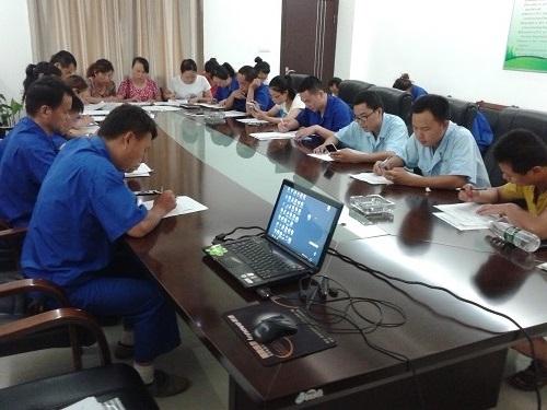 泱盛公司組織開展安全生產培訓