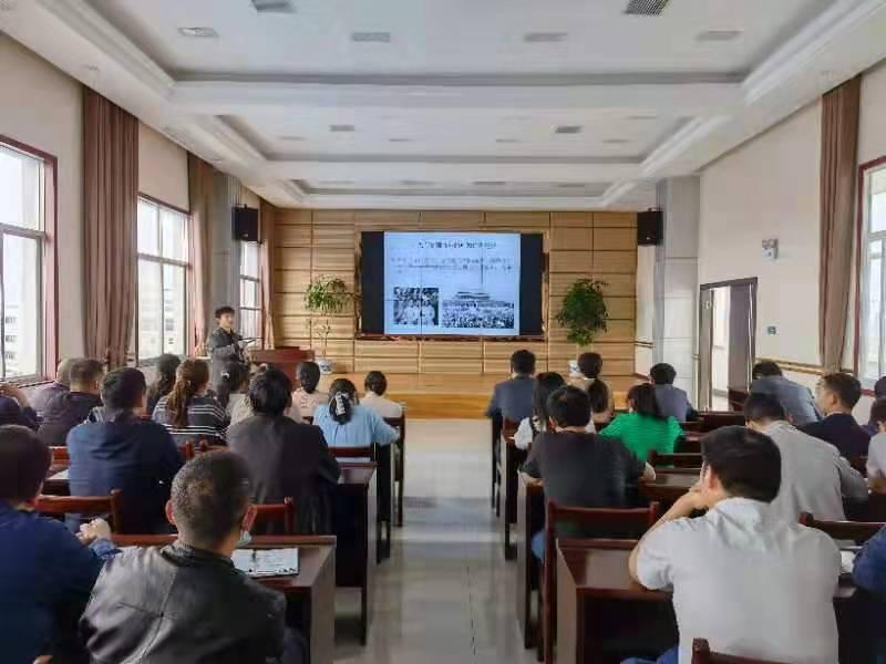 应城蒲Young青年宣讲团到回盛作党史专题示范宣讲