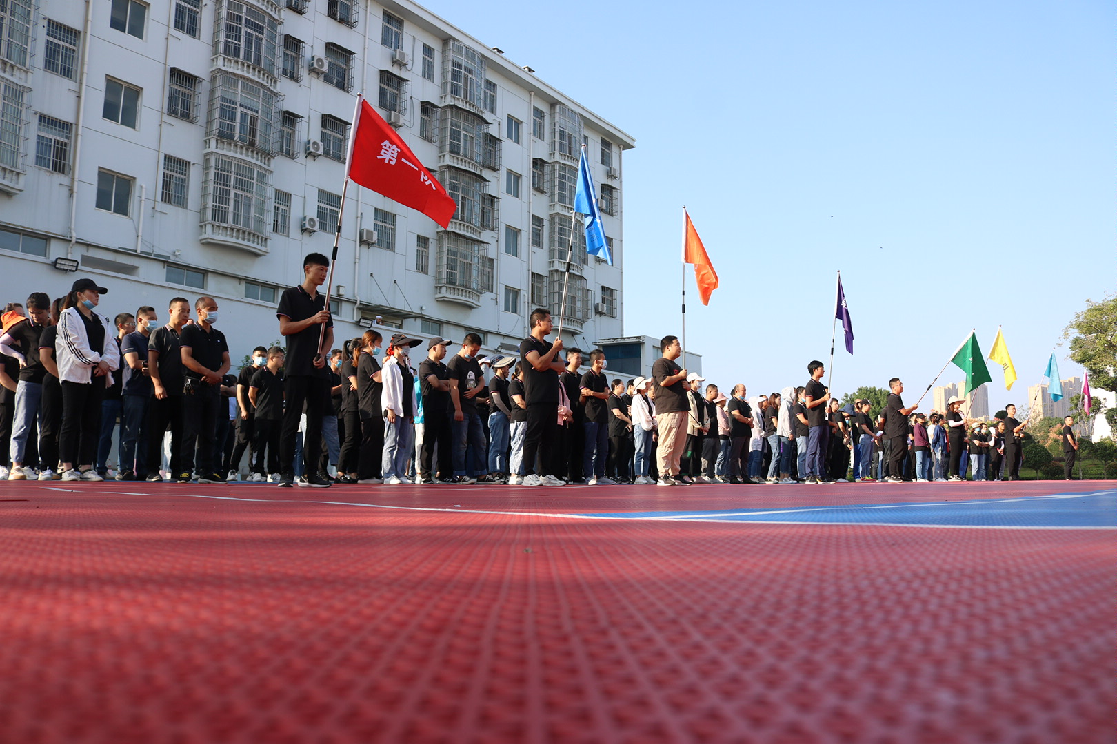 湖北回盛公司举办职工趣味运动会迎国庆